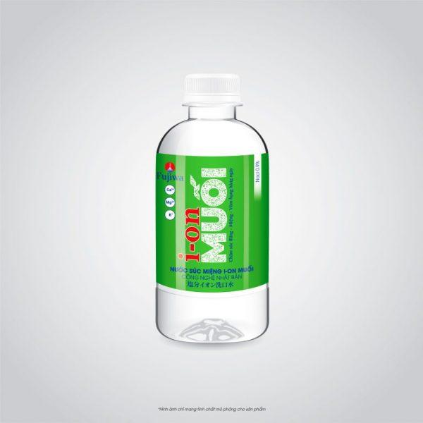 Nước súc miệng ion Muối Hương Mint Bạc Hà 300ml 3D