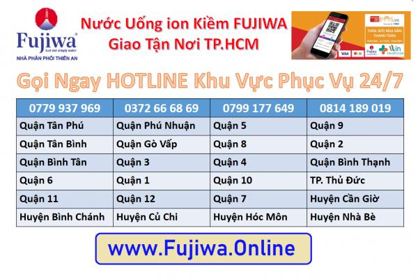 Nước Fujiwa Quận Tân Phú