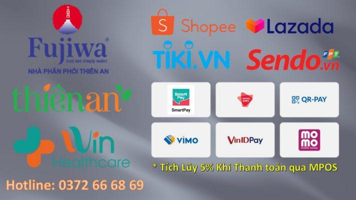 Fujiwa Online Shopee Tiki Lazada Sendo