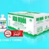 Nước súc miệng ion Muối Hương Mint Bạc Hà 680ml – Thùng 12 chai